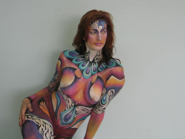 Belly Body Painting